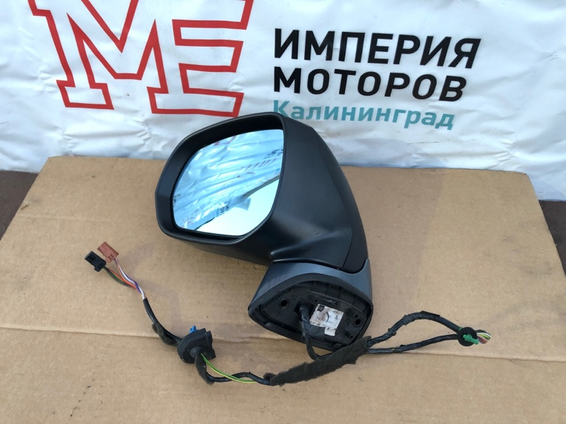 Зеркало Citroen C4 Grand Picasso 1.6 HDI 9HZ DV6TED4 2008 левое