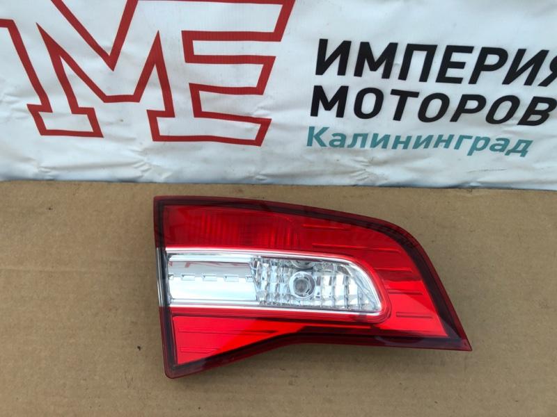 Фонарь задний Renault Koleos HY0 2.0 DCI M9R835 2011 левый