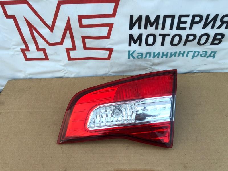 Фонарь задний Renault Koleos HY0 2.0 DCI M9R835 2011 правый