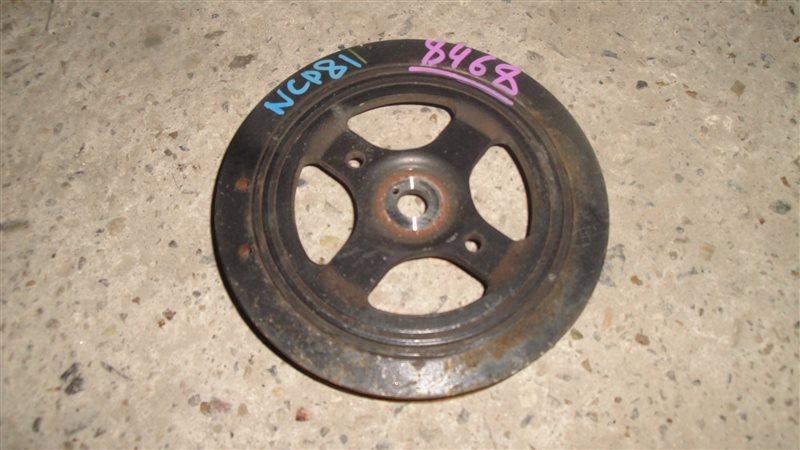 Шкив коленвала Toyota Sienta NCP81 1NZ