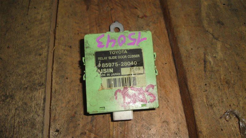 Блок управления Toyota Noah SR50