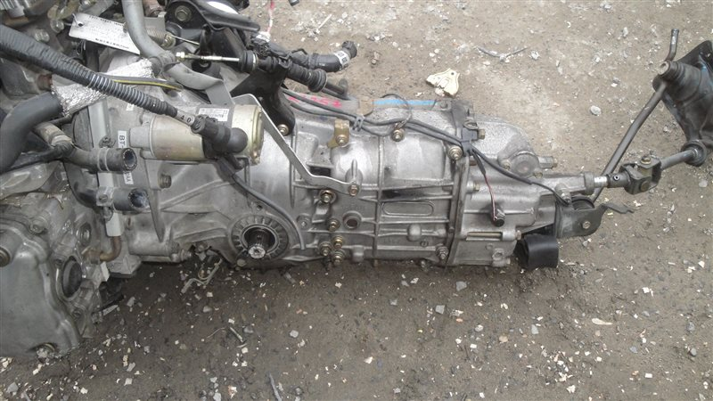 Мкпп Subaru Impreza GG2 EJ152DW4AE 2002