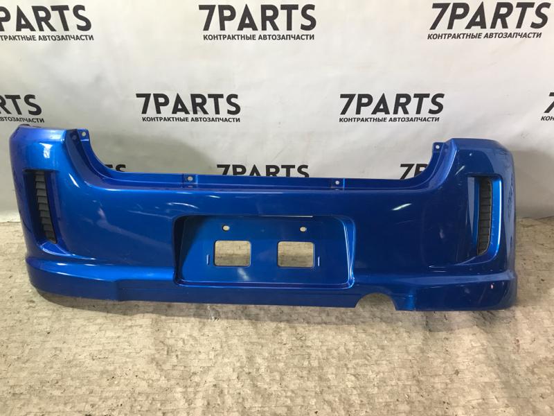 Бампер Subaru Pleo RA1 задний