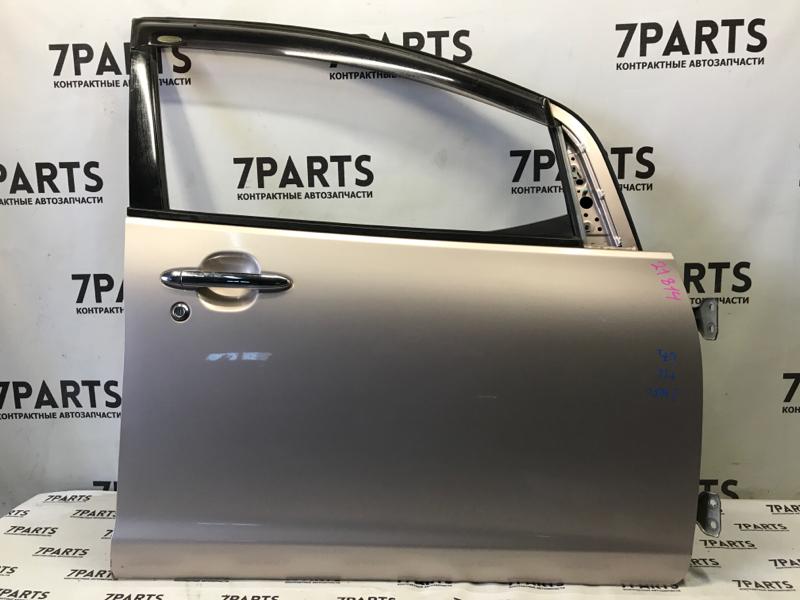 Дверь Daihatsu Sonica L405S KFDET передняя правая