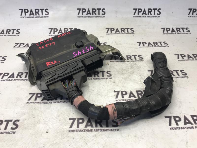 Блок efi Toyota Noah ZRR70 3ZRFAE