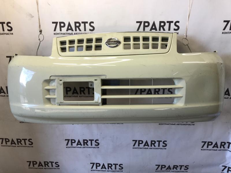 Бампер Nissan Otti H91W передний