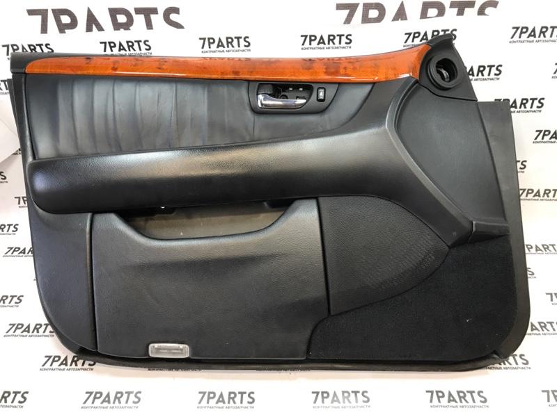 Обшивка дверей Toyota Celsior UCF30 передняя