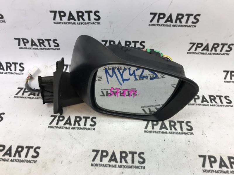 Зеркало Suzuki Spacia MK42S переднее правое