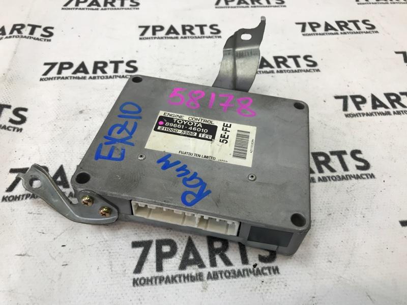 Блок efi Toyota Raum EXZ10 5E