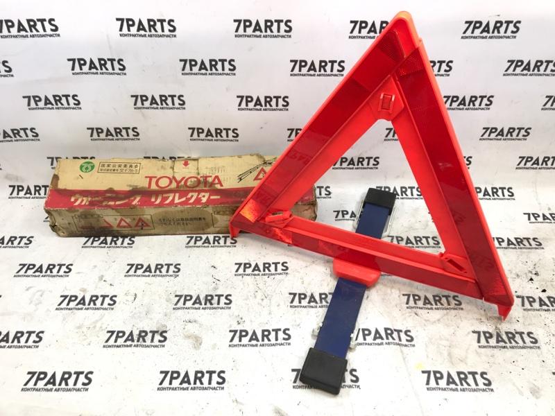 Знак аварийной остановки Toyota