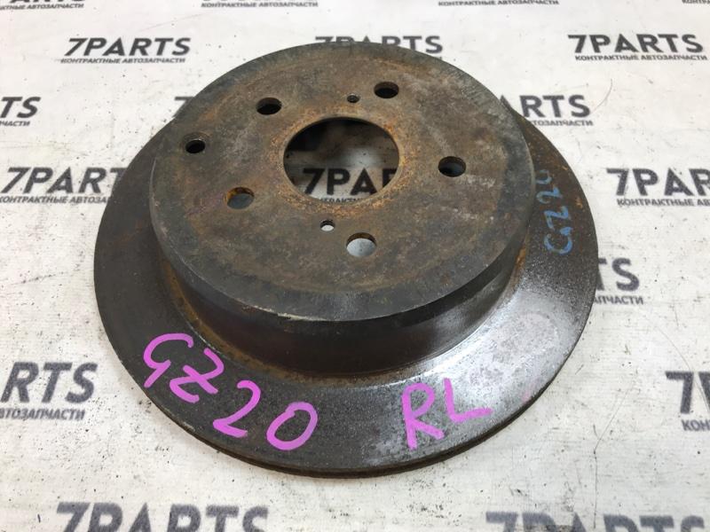 Тормозной диск Toyota Soarer GZ20 задний левый