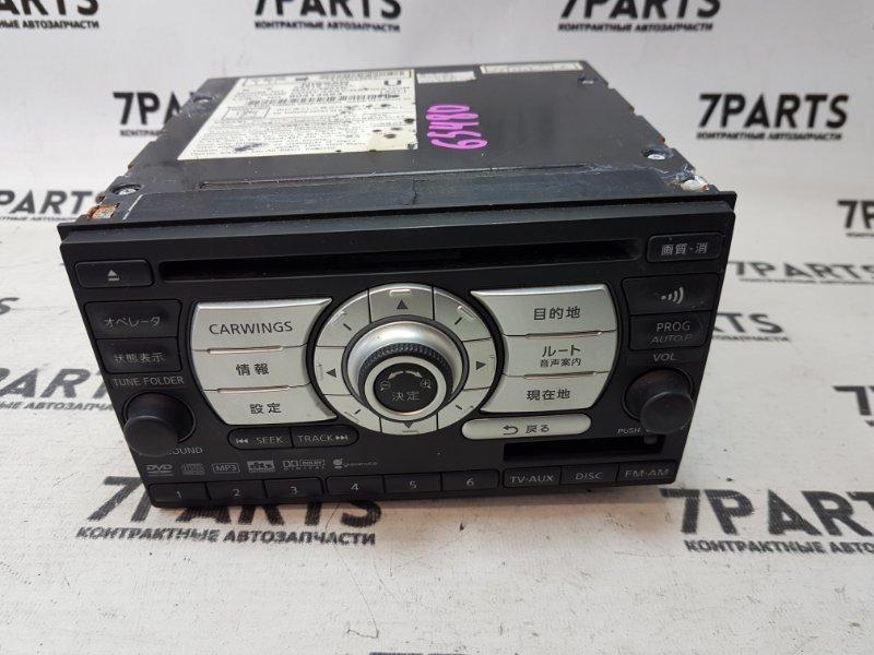 Магнитофон Nissan Tiida C11 HR15DE 2008