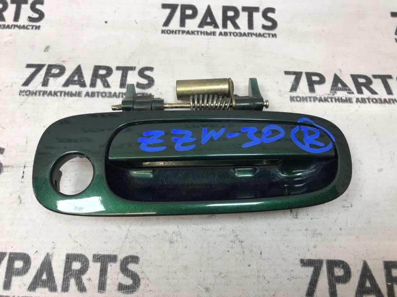 Ручка двери Toyota Mr-S ZZW30 1ZZFE 2000 передняя правая
