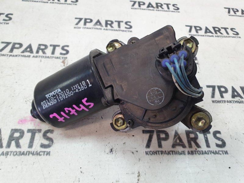 Мотор стеклоочистителя Toyota Mr-S ZZW30 1ZZFE 2000
