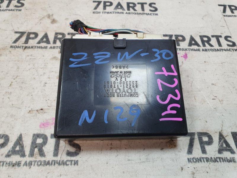 Блок управления Toyota Mr-S ZZW30 1ZZFE 2000