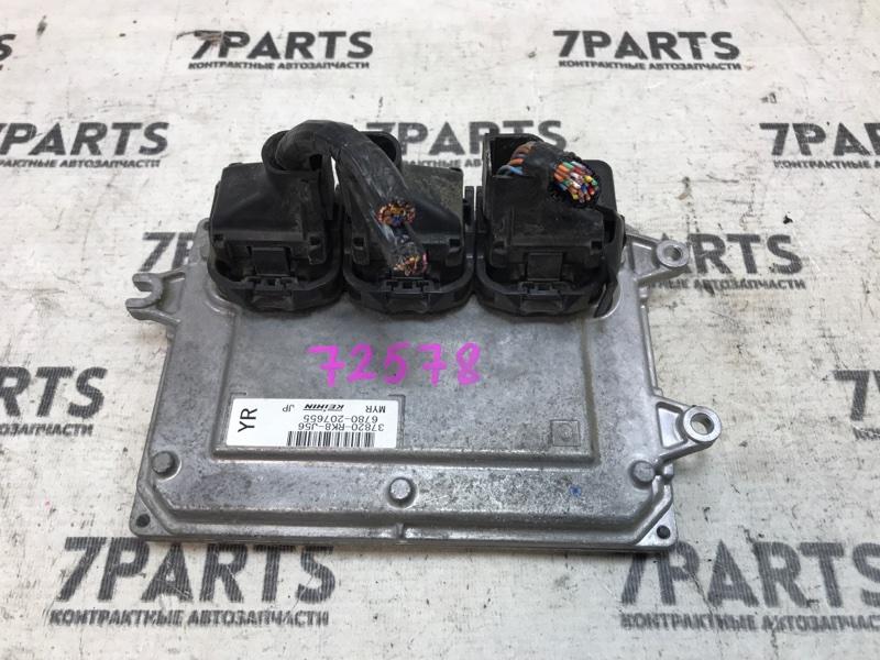 Блок efi Honda Freed GB3 L15A 2010