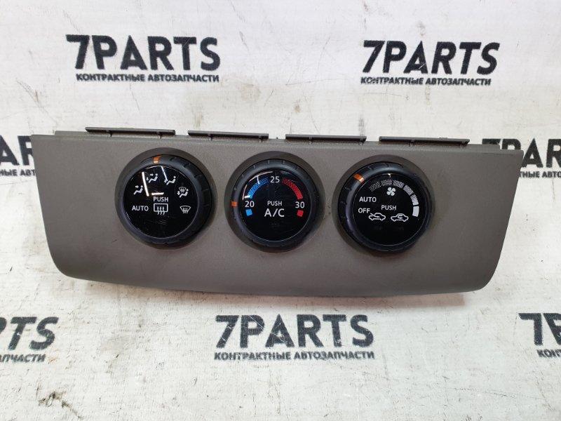 Климат-контроль Nissan Tiida Latio SJC11 MR18DE 2005