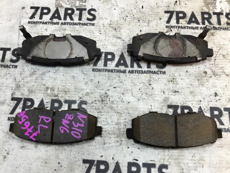 Тормозные колодки Toyota Gt86 ZN6 FA20DHWU9A заднее