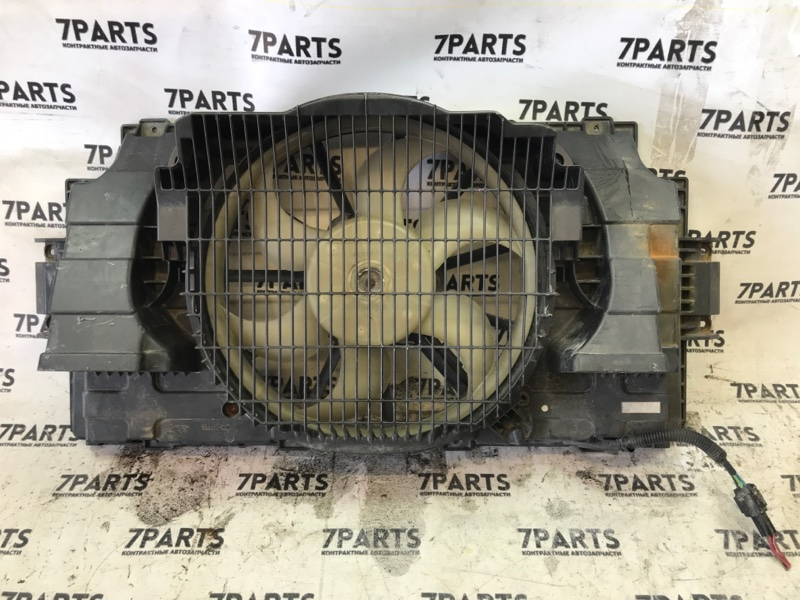 Вентилятор радиатора кондиционера Nissan Caravan CQGE25 KA24DE 2003