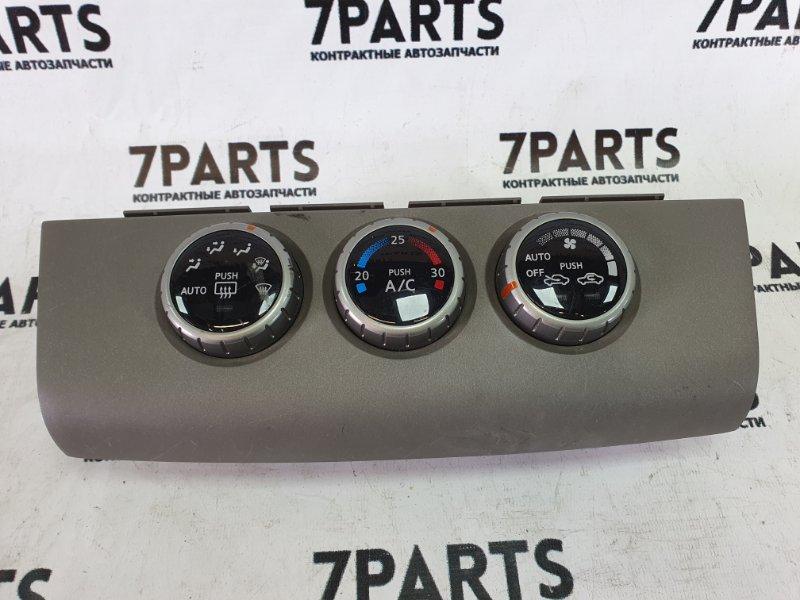 Климат-контроль Nissan Tiida Latio SC11 HR15DE 2006
