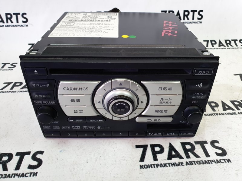 Магнитофон Nissan Tiida C11