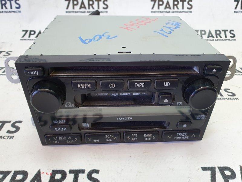 Магнитофон Toyota Mark Ii Wagon Qualis MCV21 2MZFE 2000