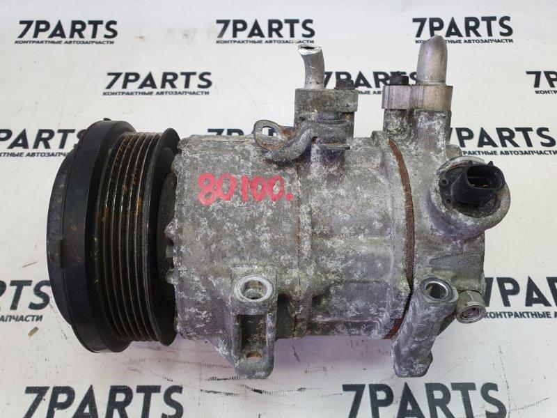 Компрессор кондиционера Toyota Voxy ZRR70 3ZRFAE 2007