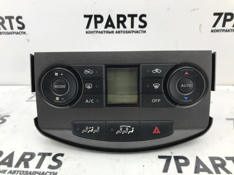 Климат-контроль Nissan Lafesta B30 MR20DE 2005