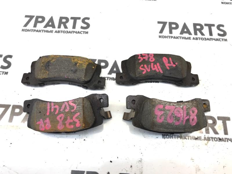 Тормозные колодки Toyota Vista SV41 3SFE 1997 заднее