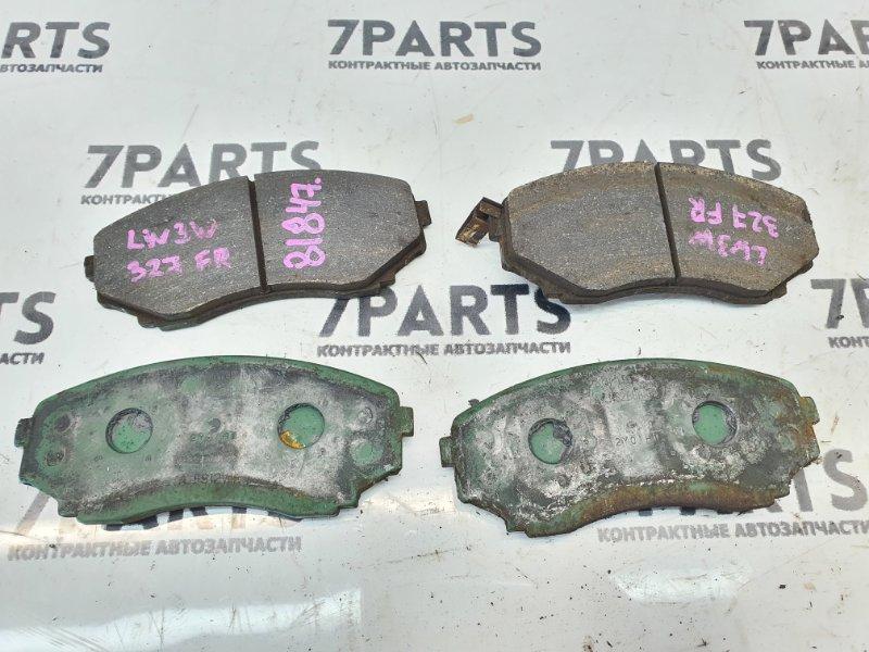 Тормозные колодки Mazda Mpv LW3W L3 2002 переднее