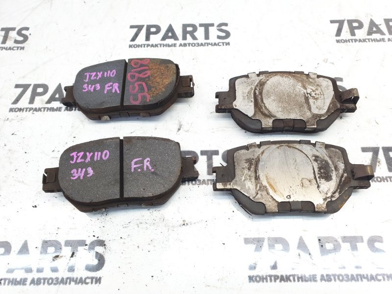 Тормозные колодки Toyota Mark Ii Wagon Blit JZX110 1JZFSE 2003 переднее