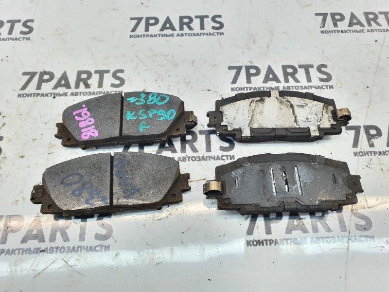 Тормозные колодки Toyota Vitz KSP90 1KRFE 2010 переднее