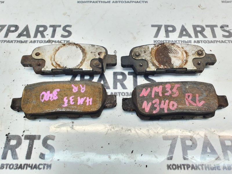 Тормозные колодки Nissan Stagea NM35 VQ25DET 2001 заднее