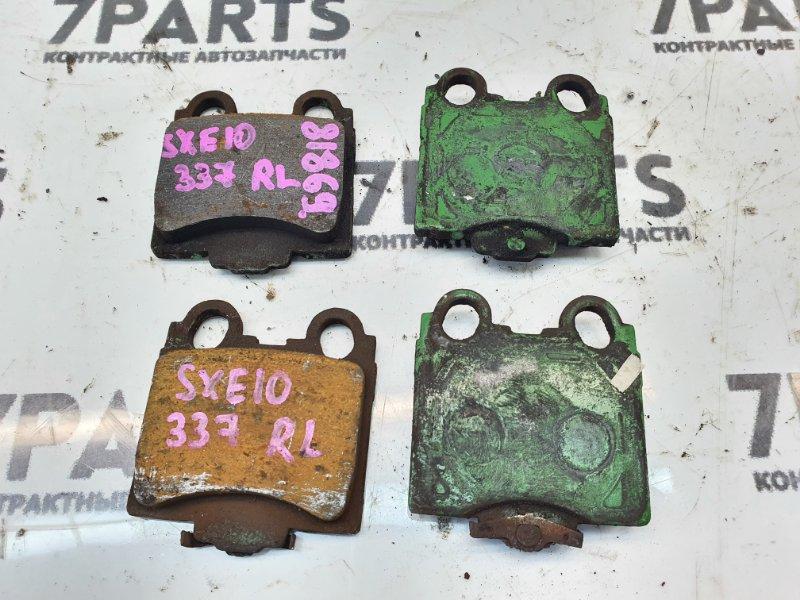 Тормозные колодки Toyota Altezza SXE10 3SGE 2001 заднее