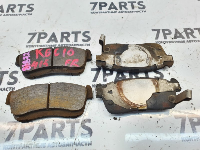 Тормозные колодки Toyota Passo KGC10 1KRFE 2007 переднее