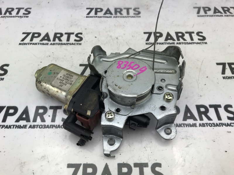 Мотор стеклоподъемника Nissan Teana J31 VQ23DE 2003 задний левый
