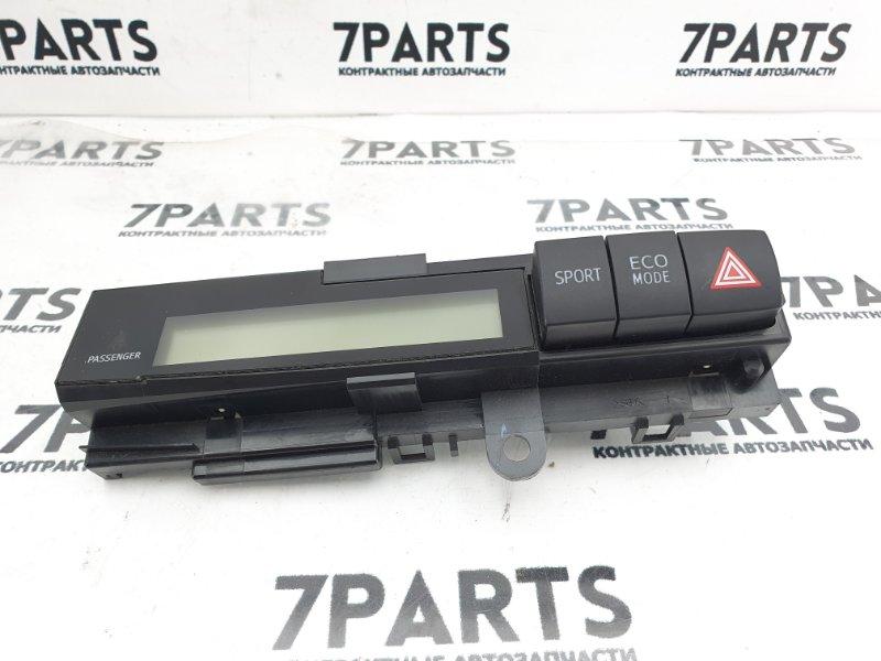 Дисплей информационный Toyota Wish ZGE20 2ZRFAE 2010