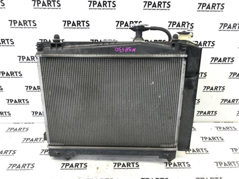 Радиатор двс Toyota Vitz NSP131