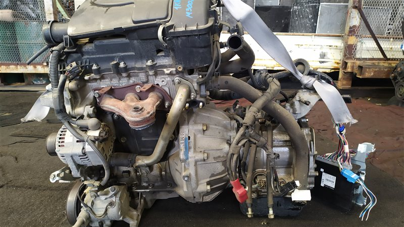 Двигатель Daihatsu Boon M300S 1KRFE 2005