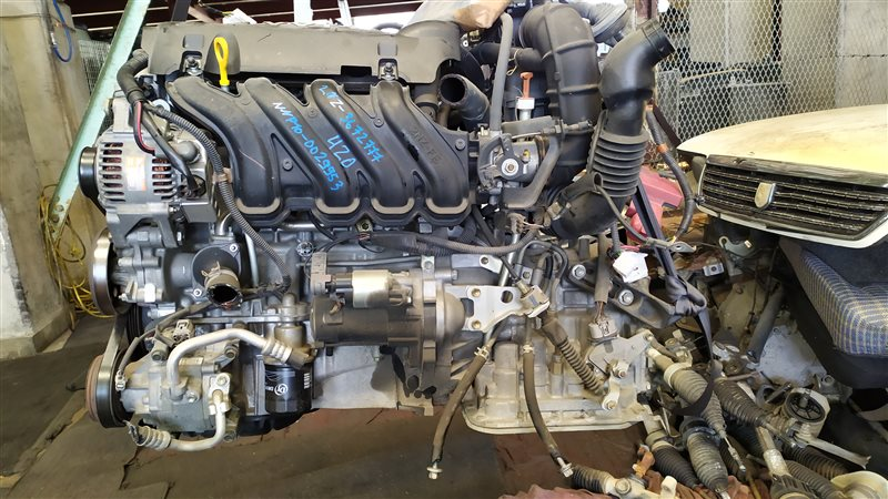 Двигатель Toyota Porte NNP10 2NZFE 2005