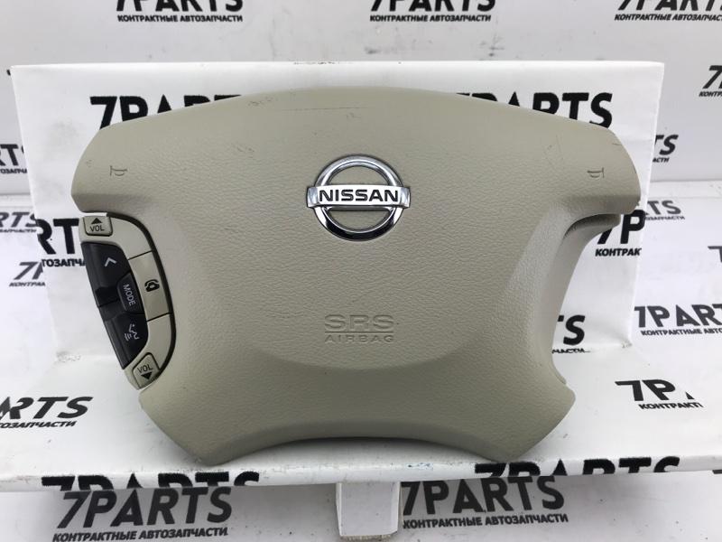 Airbag на руль Nissan Elgrand E51 VQ35DE 2004