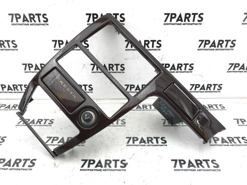 Консоль магнитофона Toyota Cresta JZX100 1JZGE 1996