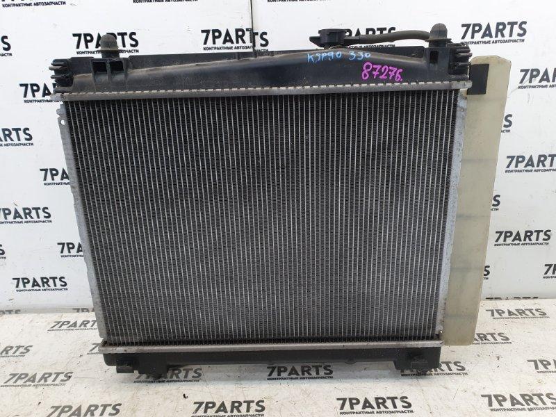 Радиатор двс Toyota Vitz KSP90 1KRFE 2006