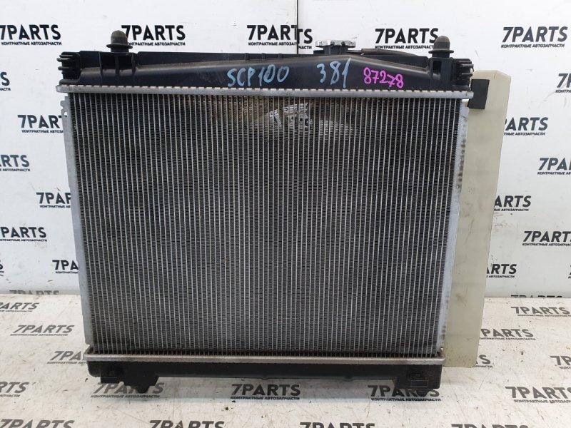 Радиатор двс Toyota Ractis SCP100 2SZFE 2007