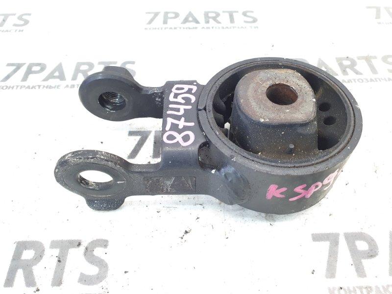 Подушка двигателя Toyota Vitz KSP90 1KRFE 2006 задняя
