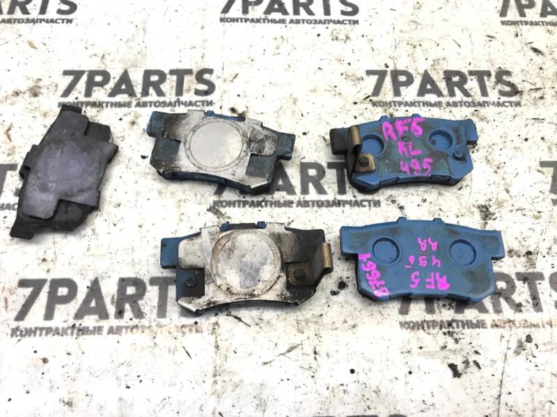 Тормозные колодки Honda Stepwgn RF5 K20A 2004 заднее