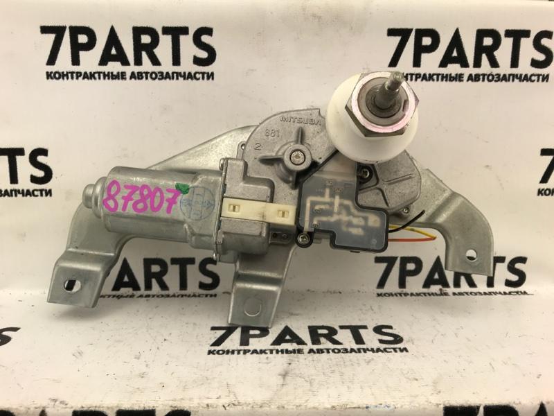 Моторчик заднего дворника Suzuki Swift ZC11S M13A 2007 задний