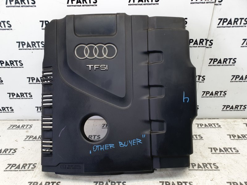 Пластиковая крышка на двс Audi
