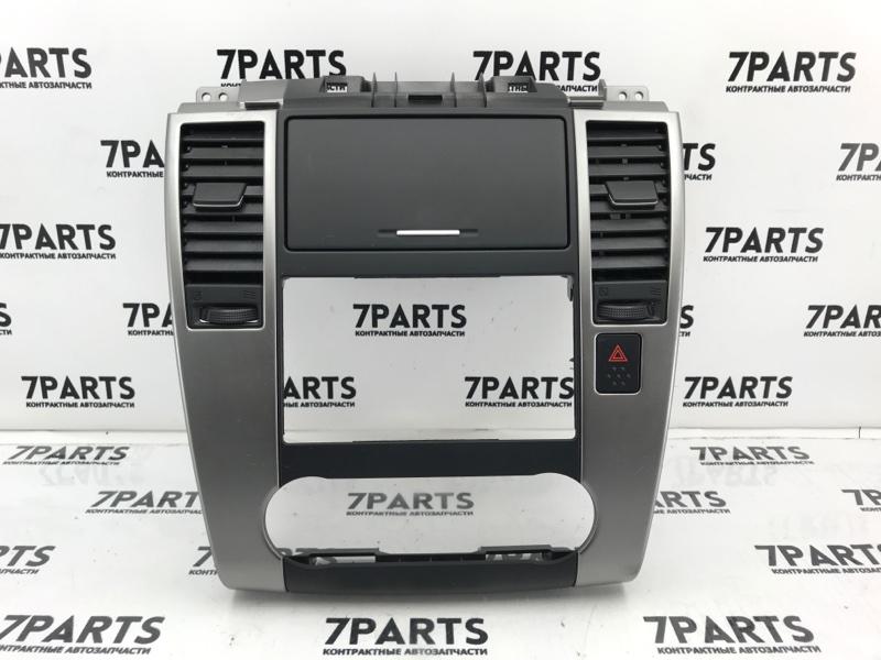 Консоль магнитофона Nissan Tiida C11 HR15DE 2008