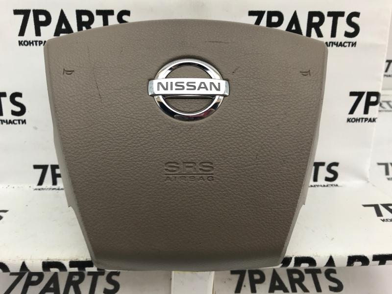 Airbag на руль Nissan Teana J31 VQ23DE 2004
